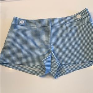 Gingham Shorts, Size 2. From urban outfitters